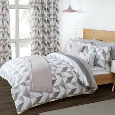 delta grey u0026 mauve luxury reversible duvet set bedding sale