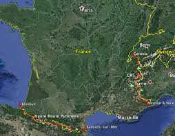 Map My Walk Route France2017 Walking With Wired