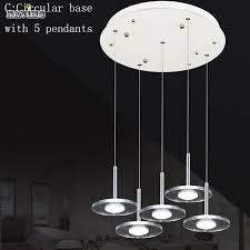 Led Pendants Lights White Glass Modern Novelty Led Pendant Lighting Fixture Dining