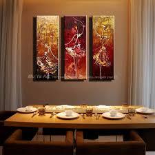 Living Room Art Paintings Online Buy Wholesale Ballerina Art Paintings From China Ballerina