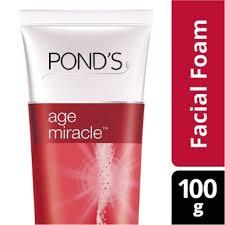Ponds Baru info harga baru ponds age miracle foam 100g lengkap daftar