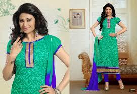 buy online churidar brasso long dress material helix enterprise