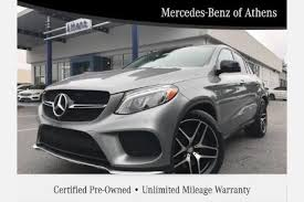macon mercedes used mercedes gle class coupe for sale in macon ga edmunds