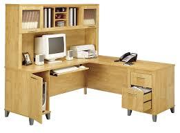 60 desk with hutch best l shaped computer desk with hutch bush wc81410k somerset 71 l