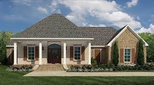 acadian house plan with split bedrooms 83841jw architectural