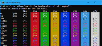 color tool how to customize your command prompt s color scheme with microsoft s