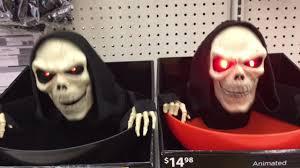 Walmart Halloween Lights by Walmart Halloween 2017 Small In Store Footage Of New Halloween