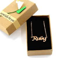 Baby Name Necklace Gold Custom Name Necklace Personalized Name Necklace Customize