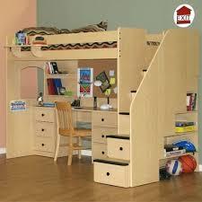 Computer Desk Hard Wood Desk Twin Loft Bed With Computer Desk Nicholas Twin Loft Bed