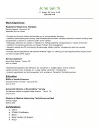Physical Therapy Resume Examples by Respiratory Therapist Resume Examples