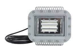 12 Volt Light Fixtures For Boats by Explosion Proof 70 Watt Low Profile Led Light Fixture 6000