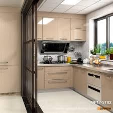 Steel Kitchen Cabinet Canton Fair 2017 Oppein Flagship Product Kitchen Cabinet Lafite