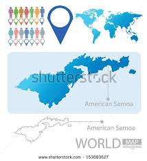 samoa in world map american samoa map stock images royalty free images vectors