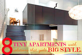 More Tiny Apartments That Maximize Small Spaces With Smart - Design small spaces apartment