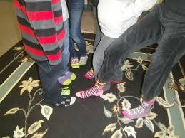 silly socks day brookeside montessori school in bechtelsville pa