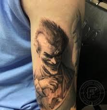 tattoo pictures joker arkham joker tattoo by francisco sanchez tattoos