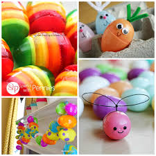 Easter Decorations With Balloons by Creative Things To Make Out Of Plastic Easter Eggs Crafty Morning