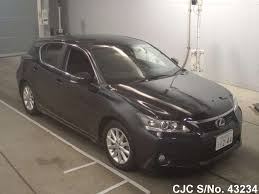 used lexus cars for sale in japan 2011 lexus ct200h black for sale stock no 43234 japanese used