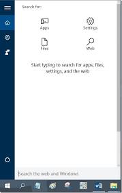 Windows Search Box - how do i add search box to start menu in windows 10