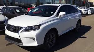 used 2015 lexus suv for sale new ultra white on black 2015 lexus rx 350 awd f sport package