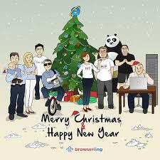 christmas tree jokes webcomic about programmers web development