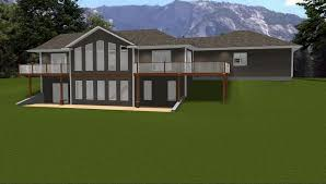 Ranch Style House Plans With Walkout Basement Home Design Modern Craftsman Bungalow House Plans Breakfast Nook