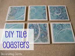 decorating cents diy tile coasters