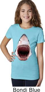 girls shark shirt 3d shark tee t shirt 3d shark kids shirts