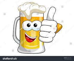 cartoon beer cartoon beer mug thumb isolated on stock vector 585431483