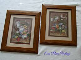 vintage home interior framed pictures sixprit decorps