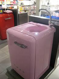 washing machine with sink pink washing machine w built in sink galeries lafayette flickr