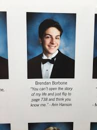 my high school yearbook my senior quote in my high school yearbook gamegrumps