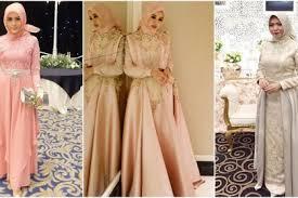 gaun muslim desain cantik gaun muslimah untuk ke acara pesta