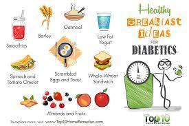 breakfast menu for diabetics healthy breakfast ideas for diabetics top 10 home remedies