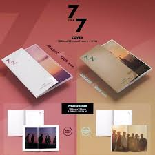 photo album sets member sets got7 7 for 7 album poster k wave on carousell