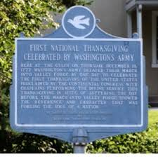 king of prussia historical society thanksgiving day 1777