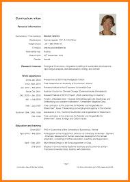 curriculum vitae templates pdf 8 pdf curriculum vitae producer resume