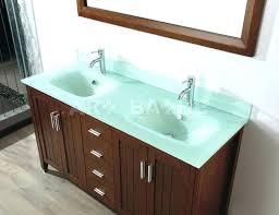 Glass Bathroom Sinks And Vanities Vessel Sink Vanity Top Glass Bathroom Sink Vanity Peachy Ideas