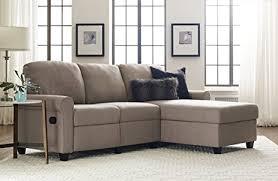 amazon com serta copenhagen reclining sectional with right