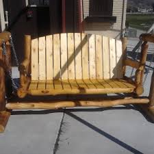 furniture cool porch glider for your outdoor patio ideas