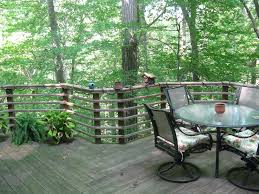 wooded backyard deck odom res ideas pinterest backyards forests