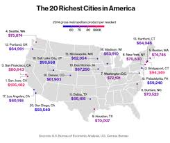 us bureau economic analysis tech boom drives seattle to become fourth richest city in u s