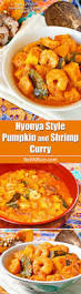 Thai Red Pumpkin Curry Recipe by Nyonya Style Pumpkin And Shrimp Curry Roti N Rice