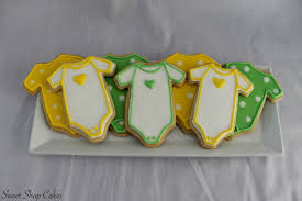 baby shower cookies gender neutral baby shower cookies cakecentral
