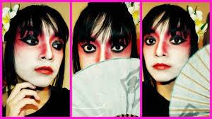 halloween theatrical makeup japanese theater makeup halloween tutorial youtube