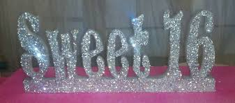 Centerpieces Sweet 16 by Styrofoam Letters Styrofoam Names Script Styrofoam Letters