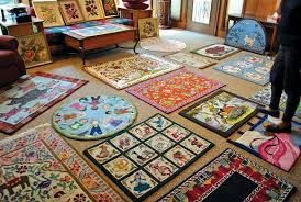 Wool Hand Hooked Rugs Features Entertainment Fort Smith Magazine Online Fort Smith