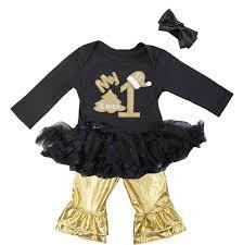 Black Gold Halloween Costumes Black Glitter Girls Chritmas Dresses Cute Black Gold Cheer