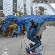 velociraptor costume realistic raptor costume blue for comic con dcrp700 mcsdinosaur
