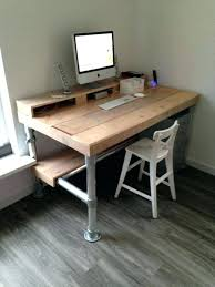 Diy Rustic Desk Diy Rustic Desk Free Furniture Plans Truss Corner Interque Co